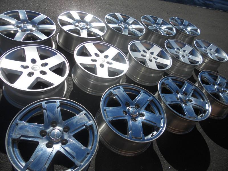 used tires and rims in excellent condition