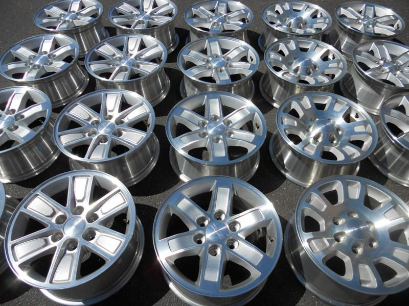 used rims and tires in excellent condition